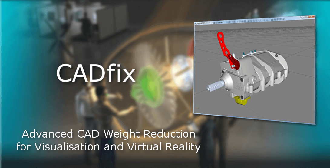 Advanced model size reduction using CADfix