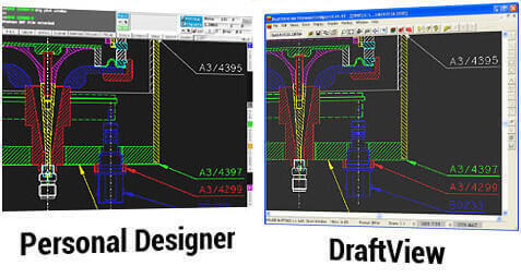 View Personal Designer CAD Data