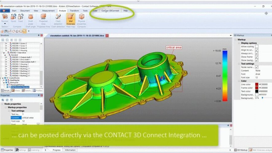 SIM Database CADViewer Integration with 3DViewStation