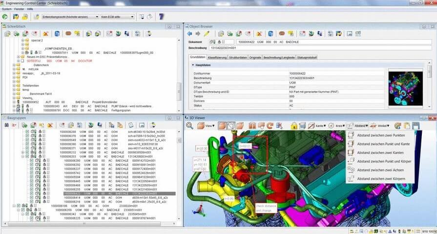 SAP ECTR CADViewer Integration with 3DViewStation ActiveX