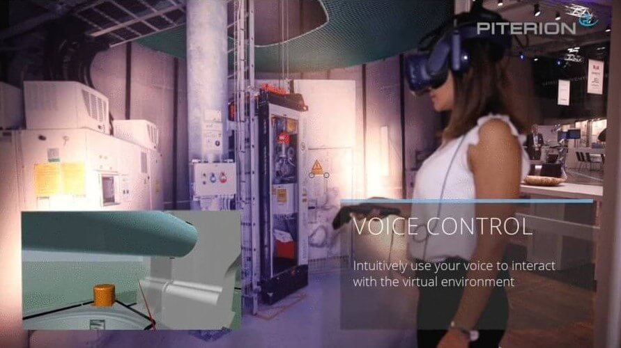 Siemens CADViewer Integration with Virtual Reality